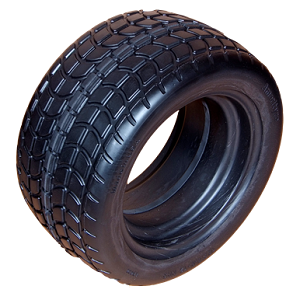 SOLID GOLF CART BLACK TURF TIRE ONLY (18X850-12)