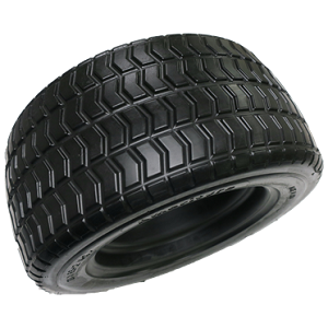 SOLID GOLF CART BLACK TURF TIRE ONLY (20X850-12)