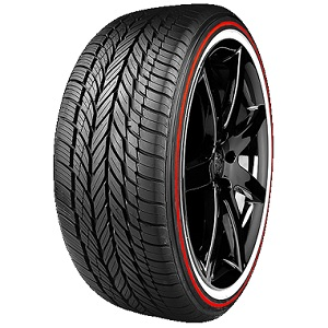 CUSTOM BUILT RADIAL VIII SPECIAL EDITION RED STRIPE - Best Tire Center