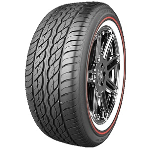 CUSTOM BUILT RADIAL XIII SCT RED STRIPE - Best Tire Center